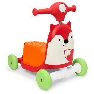 Skip Hop Zoo Indoor Ride-On Scooter Toy – Fox