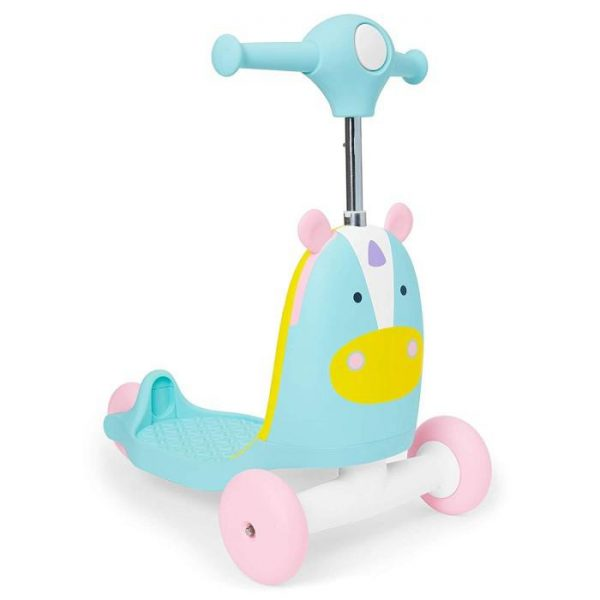 Skip Hop Zoo Indoor Ride-On Scooter Toy – Unicorn 2
