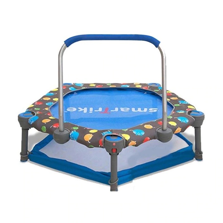 Toys SmarTrike Folding Activity Center 3-in-1 Trampoline + Ball Pit (Termasuk Bola)