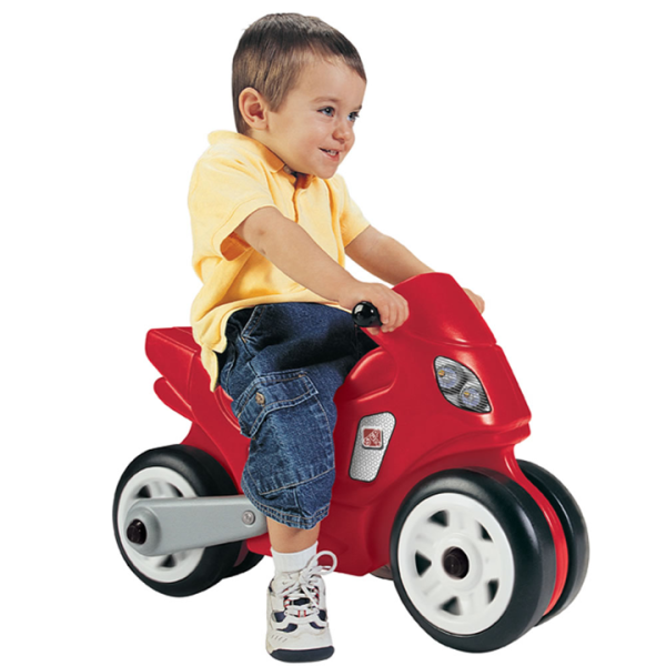 Toys Step2 Red Ride On Motorcycle