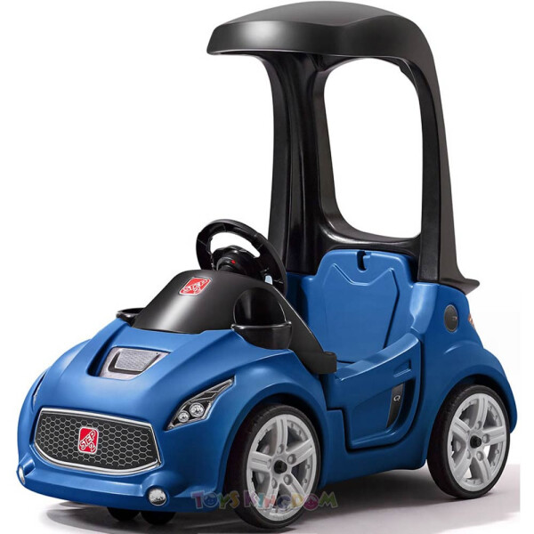 Toys Step2 Turbo Coupe Foot-To-Floor Ride-On Car – Blue