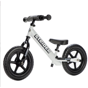 Strider Balance Kick Bike – White