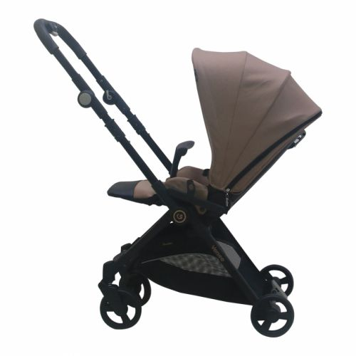 Stroller Cocolatte Versee Compact Folding Reversible – Golden Brown