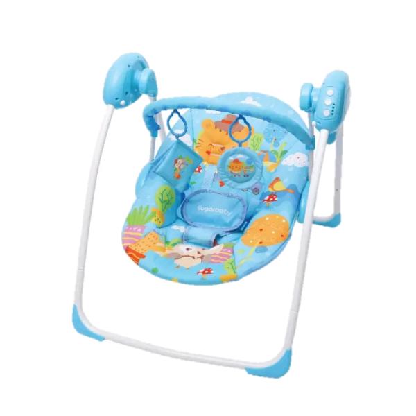 Nursery Sugar Baby Gold Edition Premium Swing Bouncer – Blue