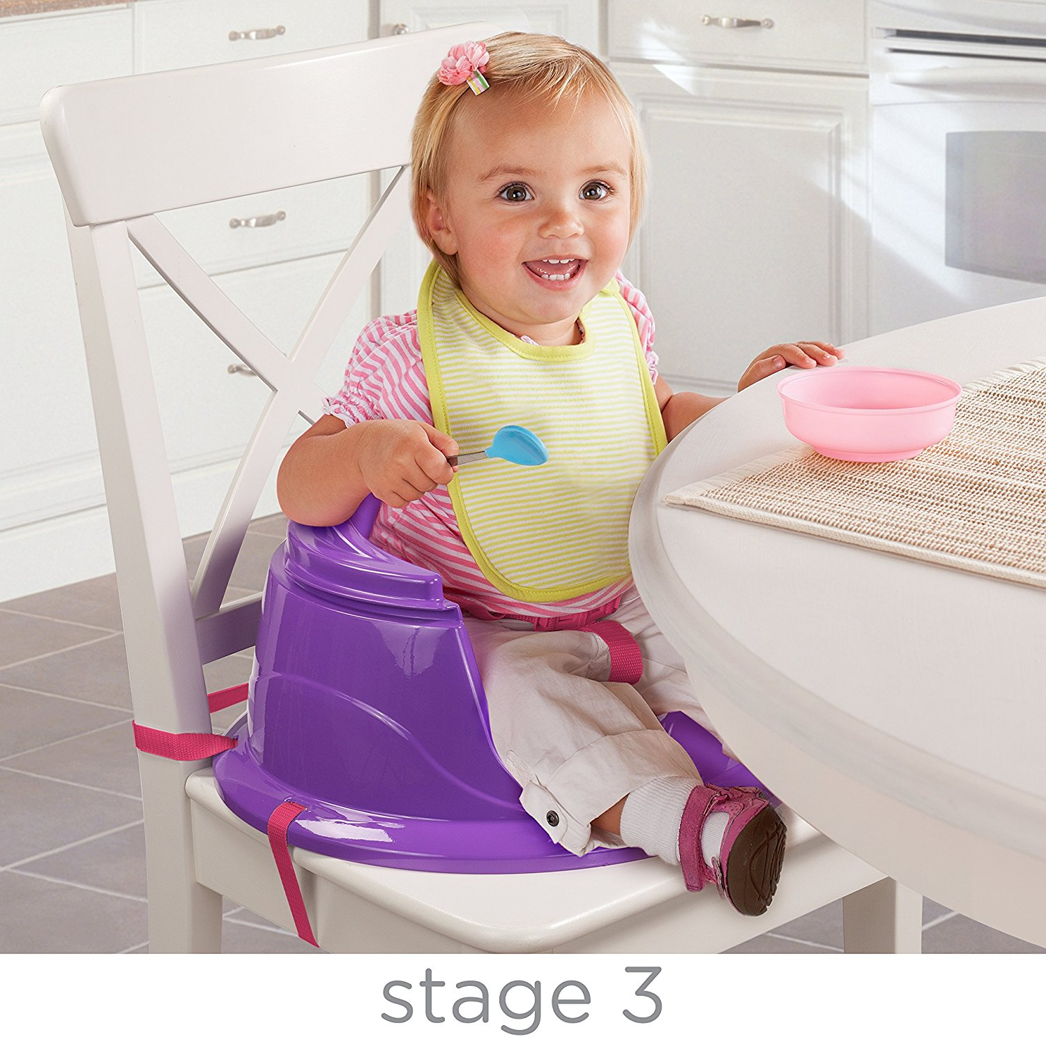 Booster Seat Summer 3 Stage Super Seat Forest Friend – Pink