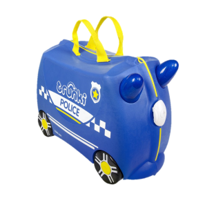 Gear Trunki Percy The Police Car Ride-On Luggage