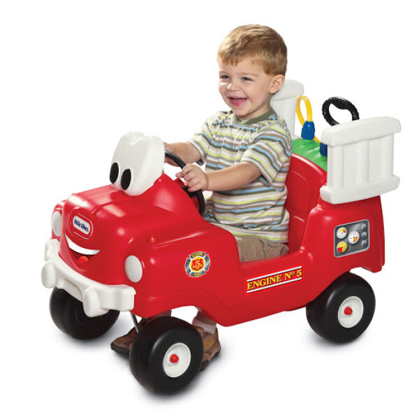 Little Tikes Cozy Coupe Spray & Rescue Fire Truck (DISKON – Selang Air Sedikit Bocor) 3