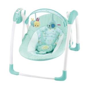 Nursery Cocolatte Weeler Deluxe Portable Swing – Blue