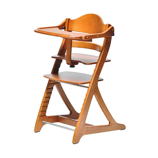 Gear Yamatoya Sukusuku Plus Table High Chair – Light Brown